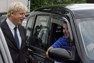 BRITAIN-POLITICS-MAYOR-BORIS JOHNSON