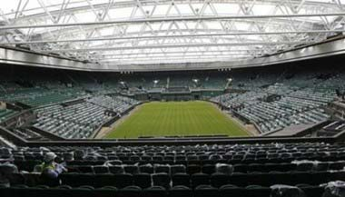 SPORTS-US-TENNIS-WIMBLEDON-ROOF