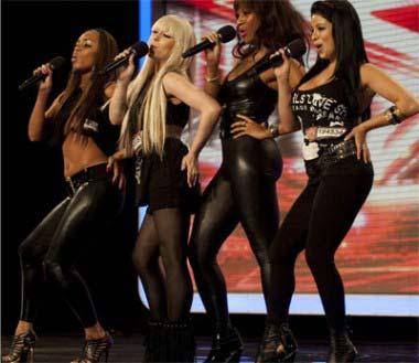 X Factor Kandy Rain