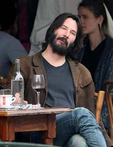 BEARD Keanu Reeves