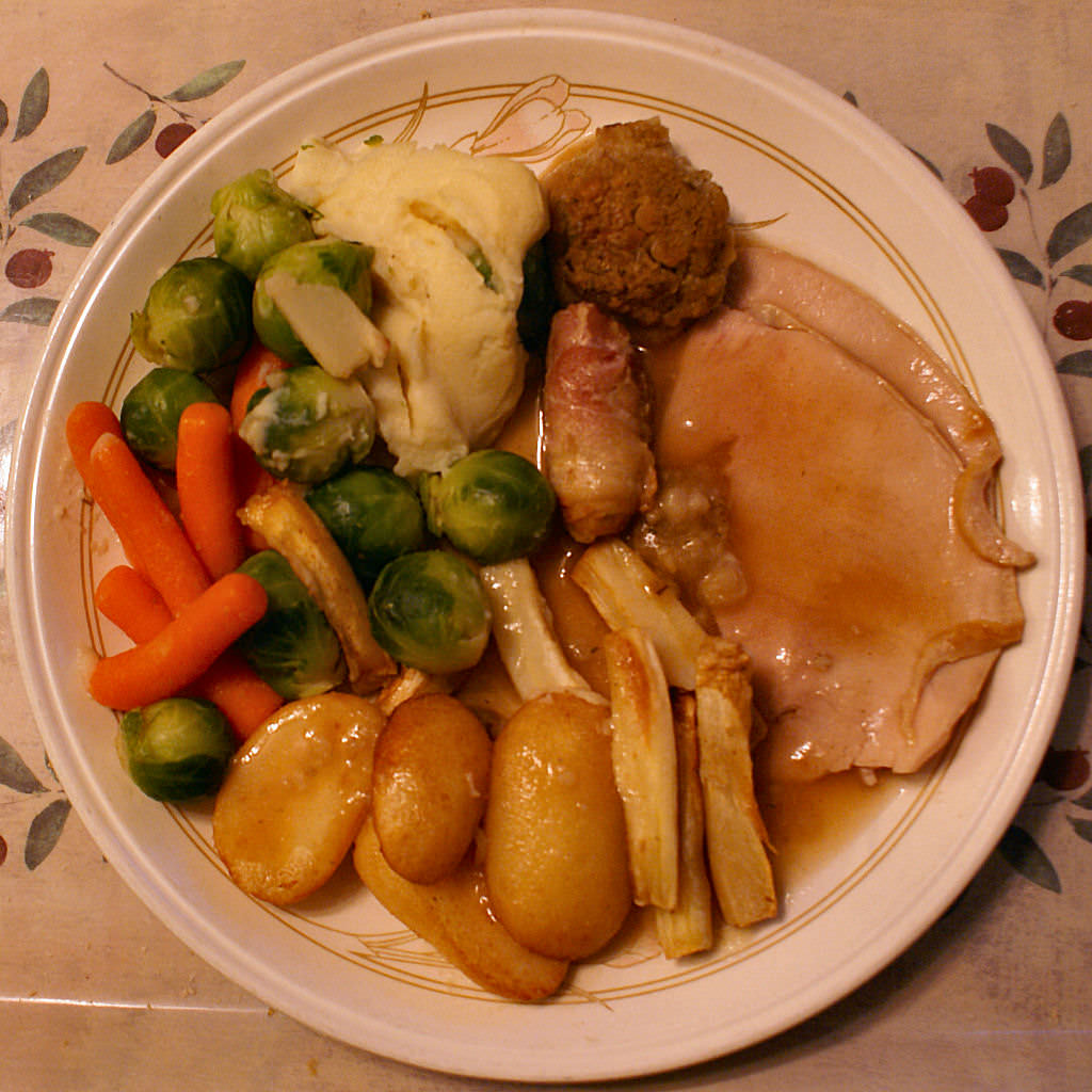 The Top 9 Things On Your Christmas Plate In Order