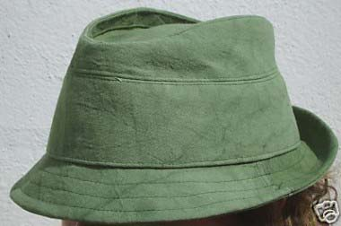 green-trilby
