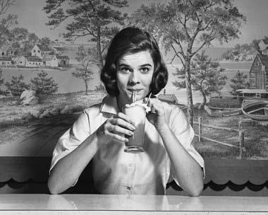 milkshake-woman