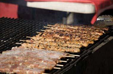 Grilled Chicken Satay Skewers