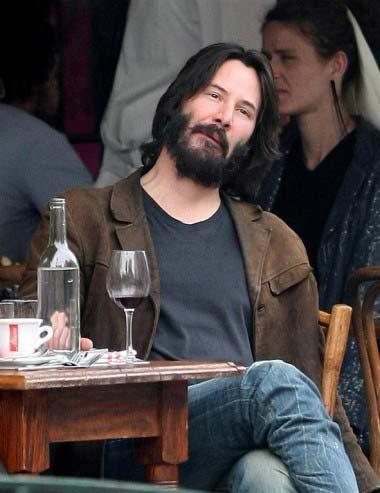 BEARD Keanu Reeves