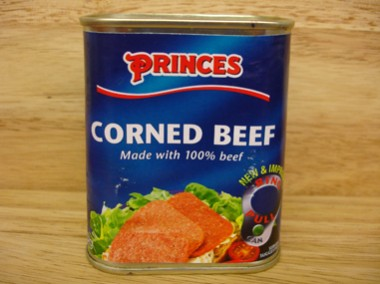 TINS Corned beef
